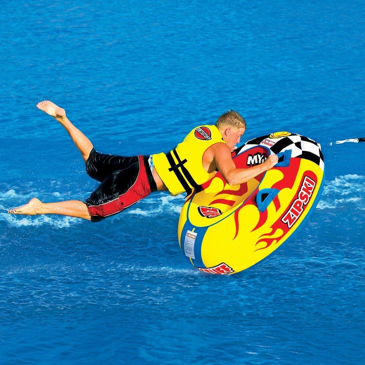 SportsStuff 53-1313 Zip Ski Water Tube