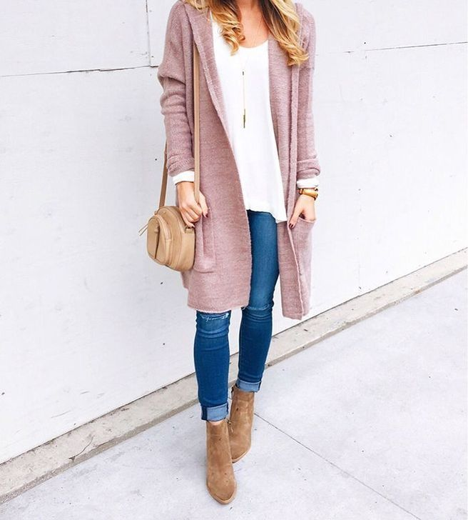 99 Inexpensive Cardigan Outfit Ideas For Fall And Winter - zapatos ,
