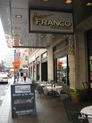 Bravo Franco Ristorante Pittsburgh Pa With Images Broadway