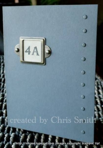 The Big Bang Theory apartment door by inkpad - Cards and Paper Crafts at Splitcoastst&ers & The Big Bang Theory apartment door by inkpad - Cards and Paper ...