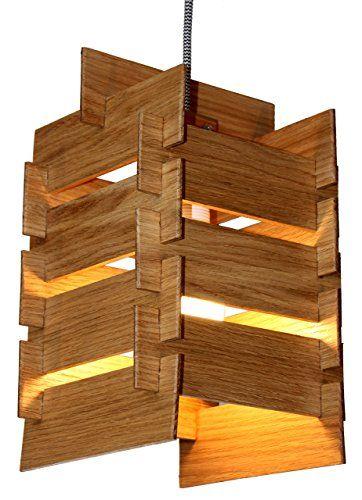 DIY Holz Hängeleuchte KAYA Bausatz- Pendelleuchte aus Holz mit - deckenleuchte led wohnzimmer