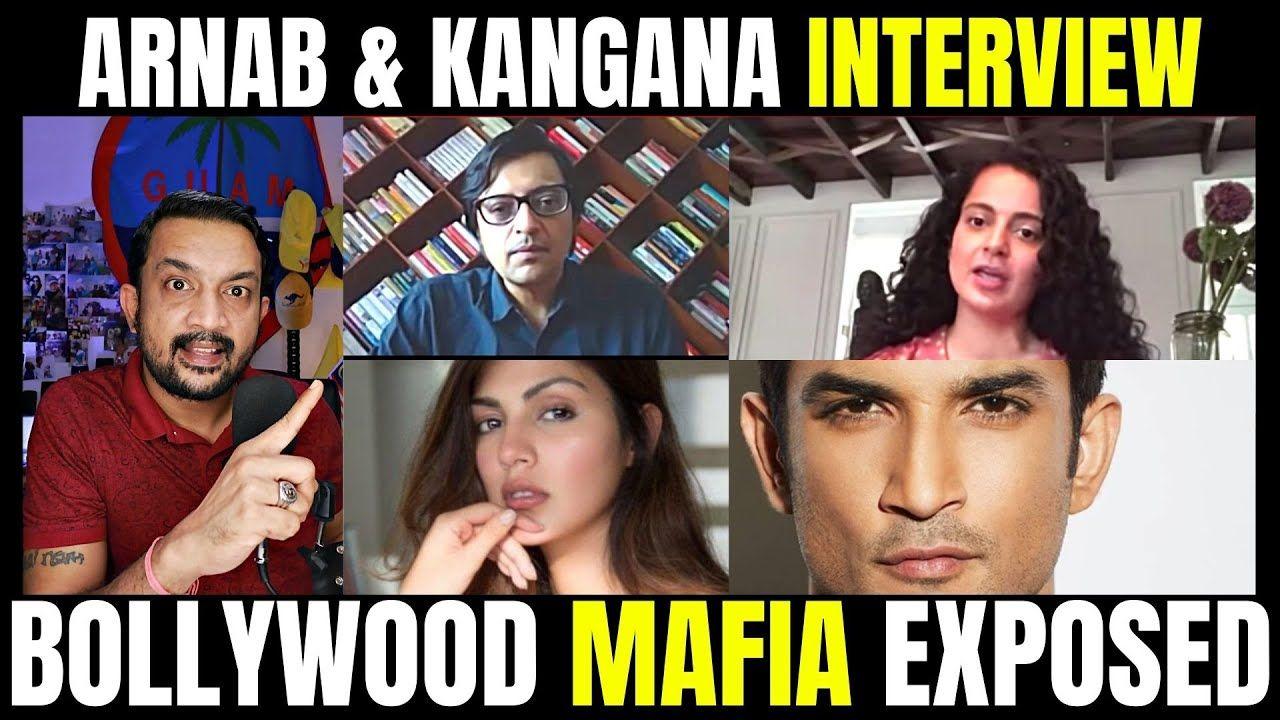 Kangana Ranaut Speaks To Arnab Goswami Bollywood Mafia Exposed Tamil In 2020 Bollywood Mafia Arnab Goswami
