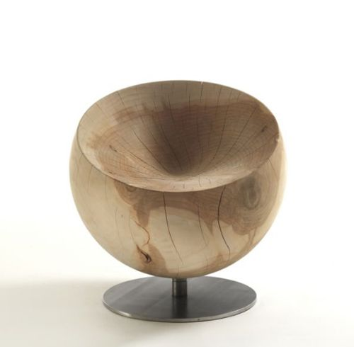 Solid Wood Chair Globe By Riva1920 | Deco NICHE