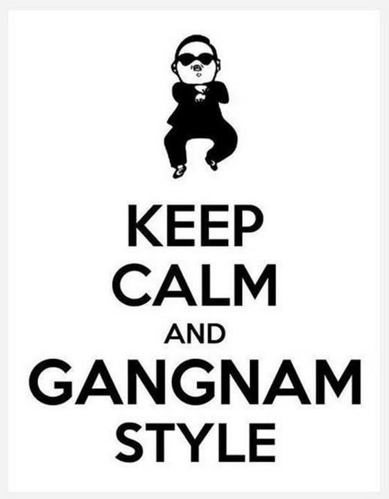 """""""It's a Gangnam world, and we're just living in it."""" ~ Josh Groban"""