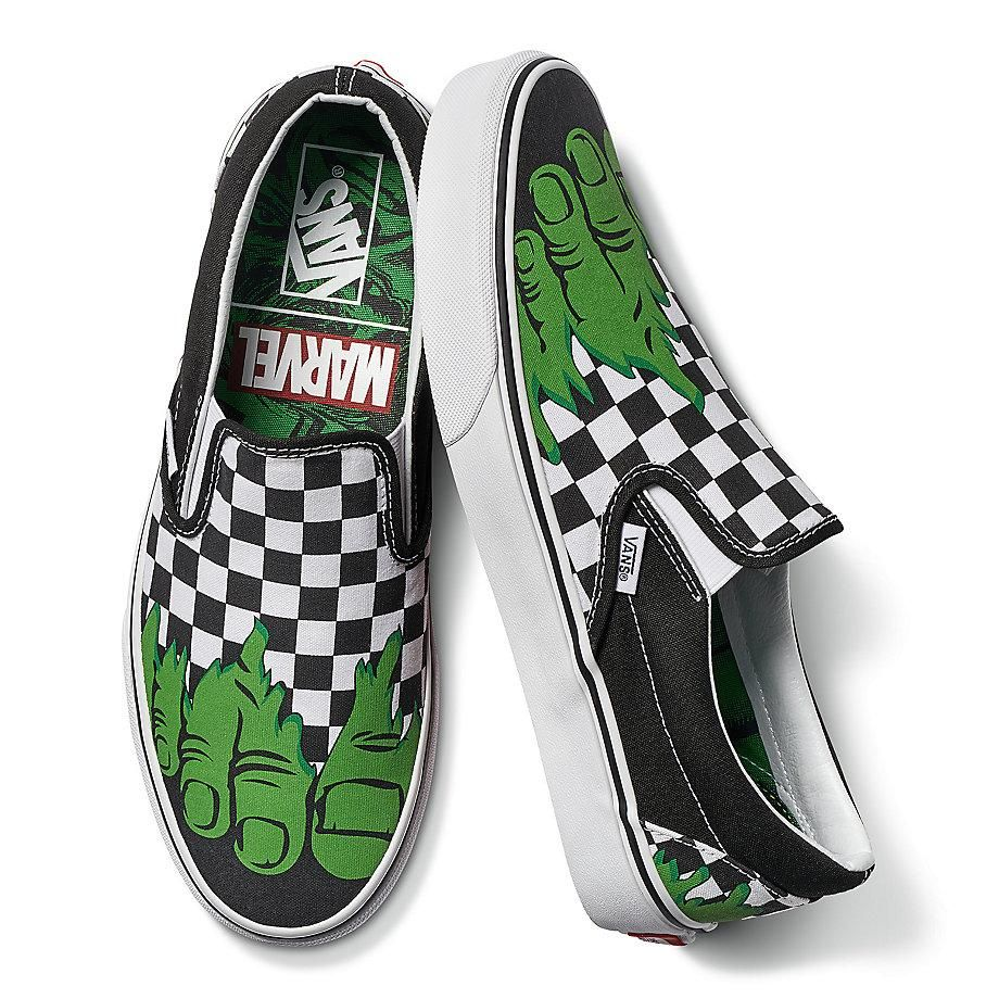 Shoes Vans X Marvel Hulk • shop