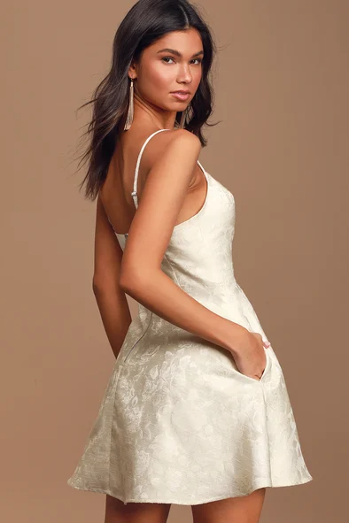 Little White Gown For Sale