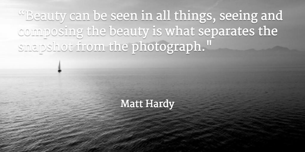 Photography quote