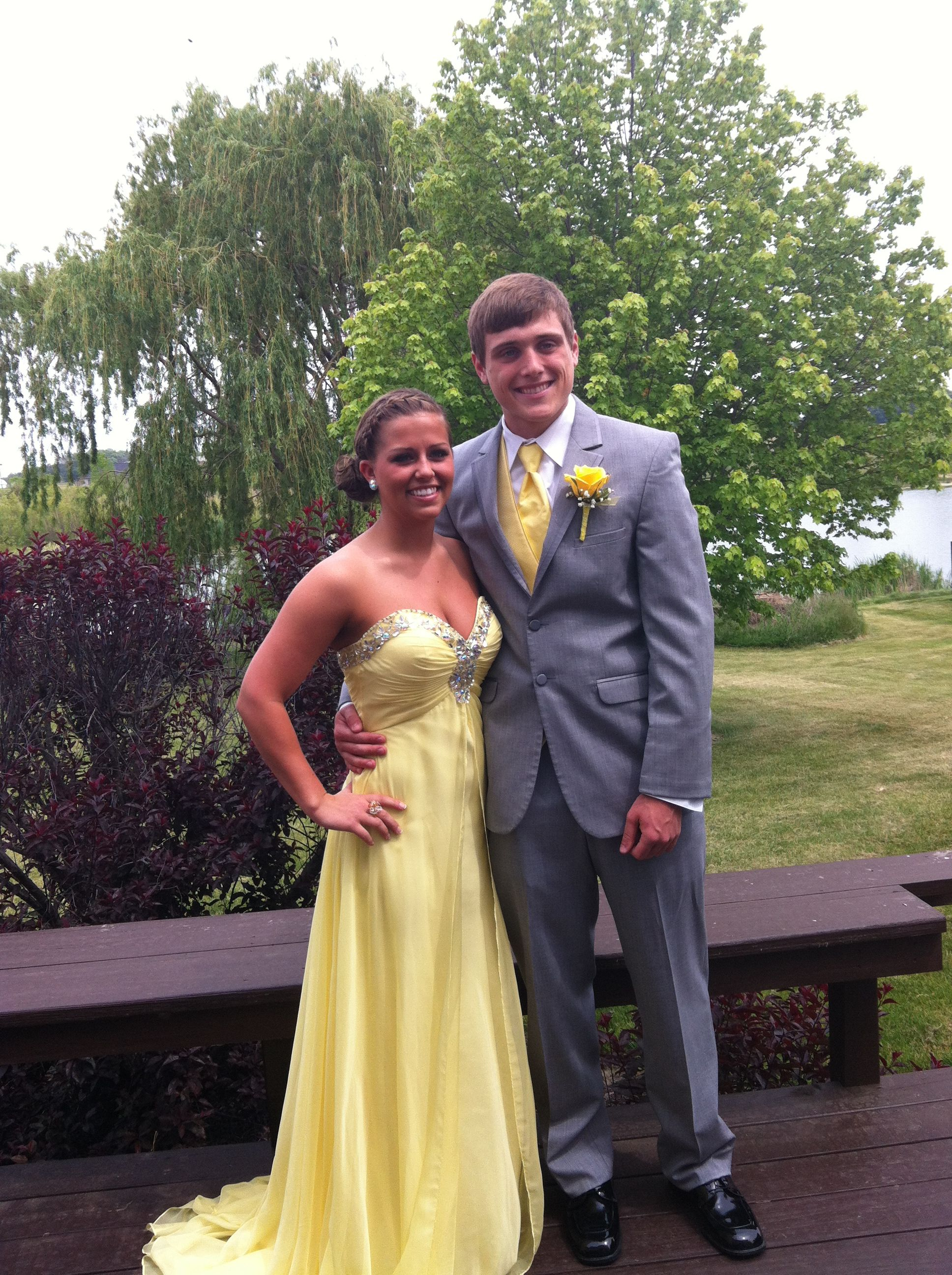 4fdc5a101143 Gray Prom Tuxedo. My date needs to wear gray this year ...