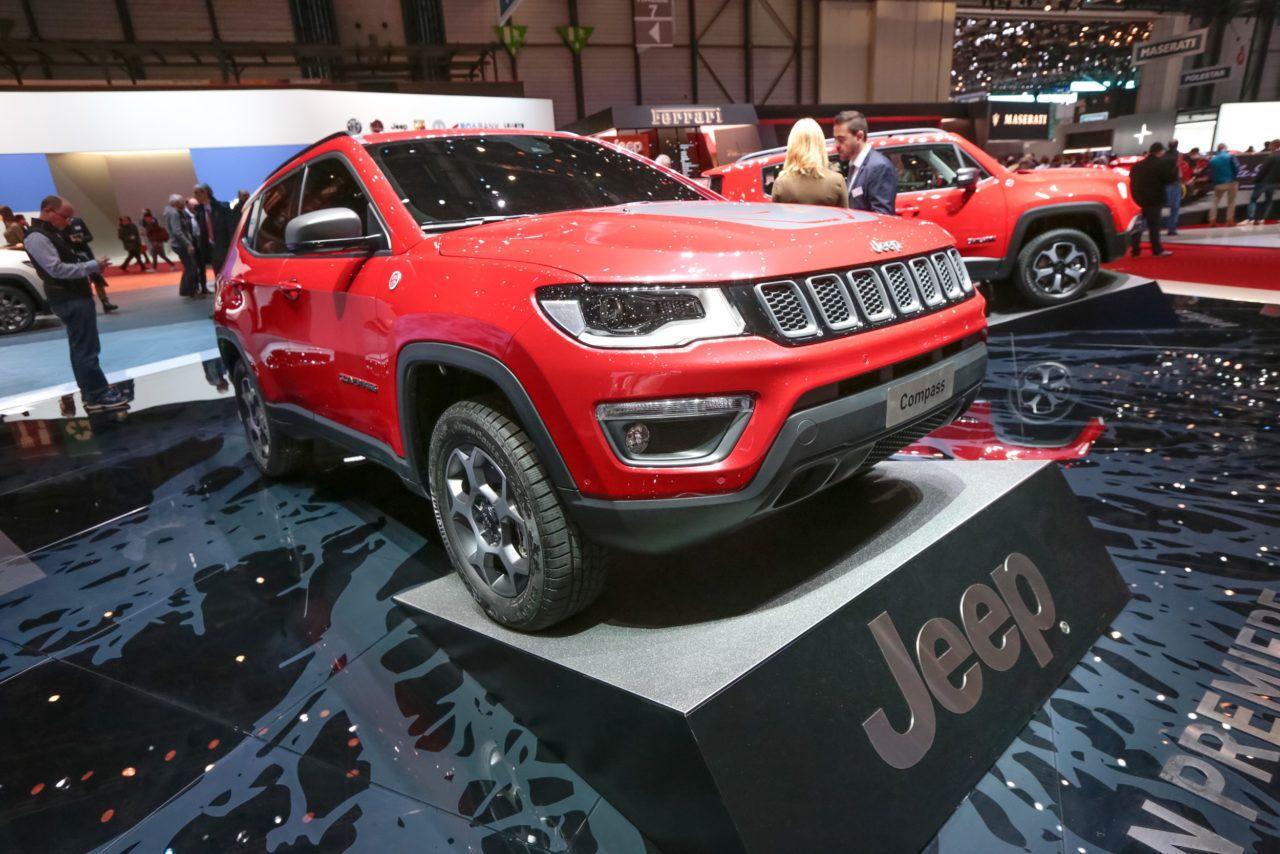 2020 Jeep Compass Hybrid Geneva Motor Show Мотоцикл