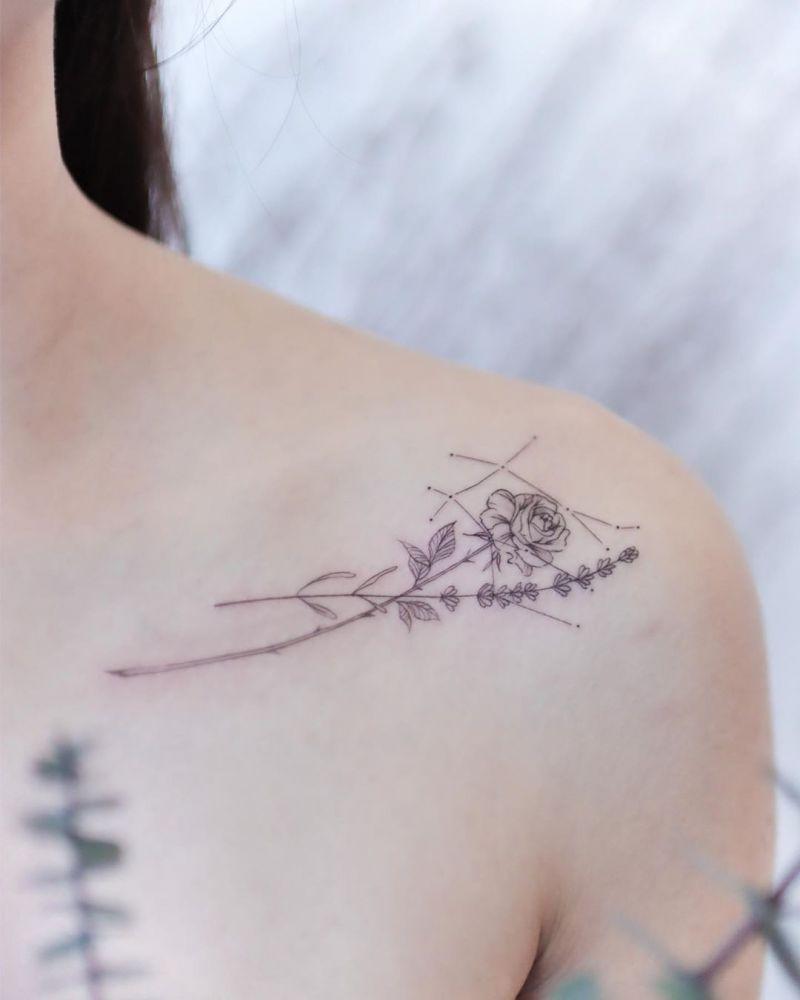Photo of 50 Pretty Constellation Tattoos Schalten Sie Ihren Charme ein