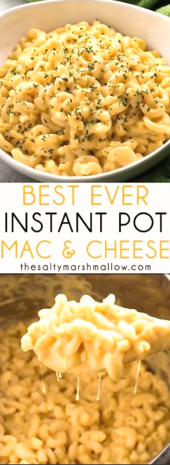 Instant Pot Mac and Cheese #instantpotchickenrecipes