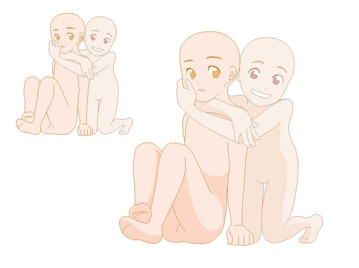 Little Kid Anime Base Google Search Drawing Base Anime Siblings Drawings