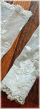 Antique Linens by Em's Heart -Antique Linen