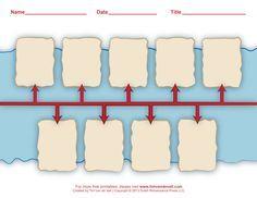 Sample Timeline For Kids Printable History Timeline Templates