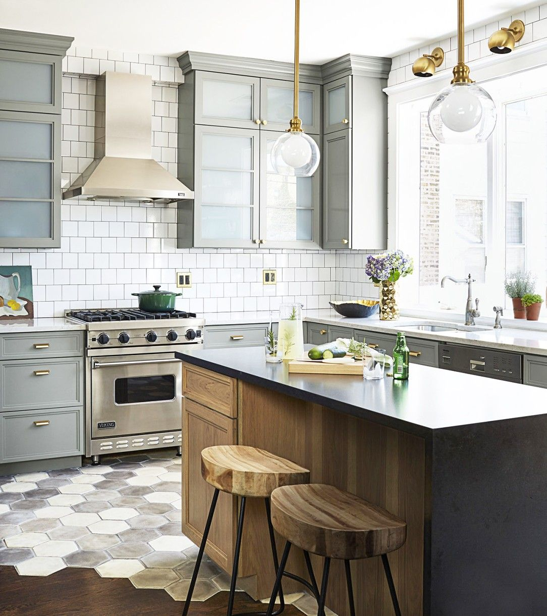 Green Kitchen Kirkman: 12 Kitchen Design Rules To Break In 2016