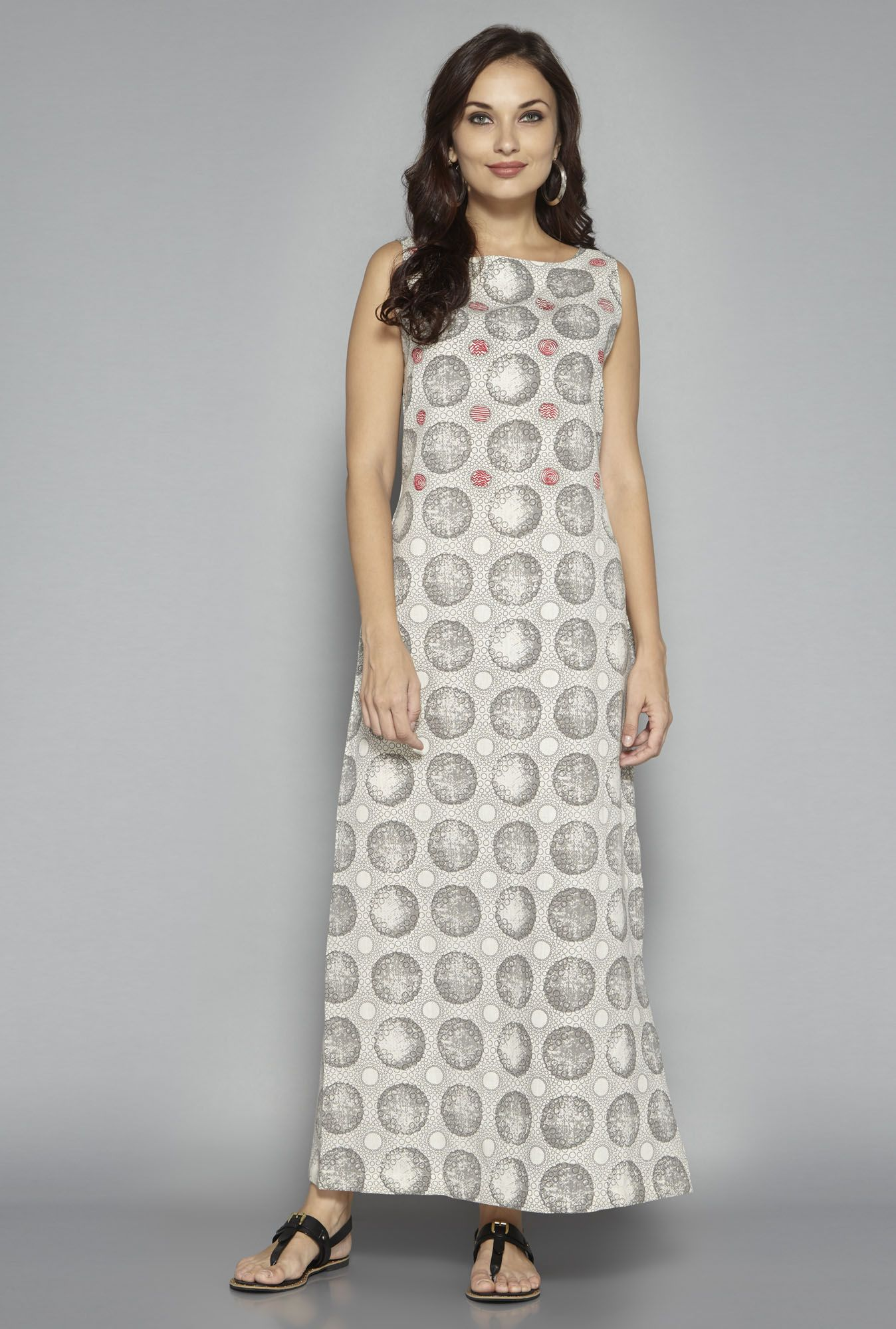 fcdbb7496 Bombay Paisley by Westside Off White Maxi Dress