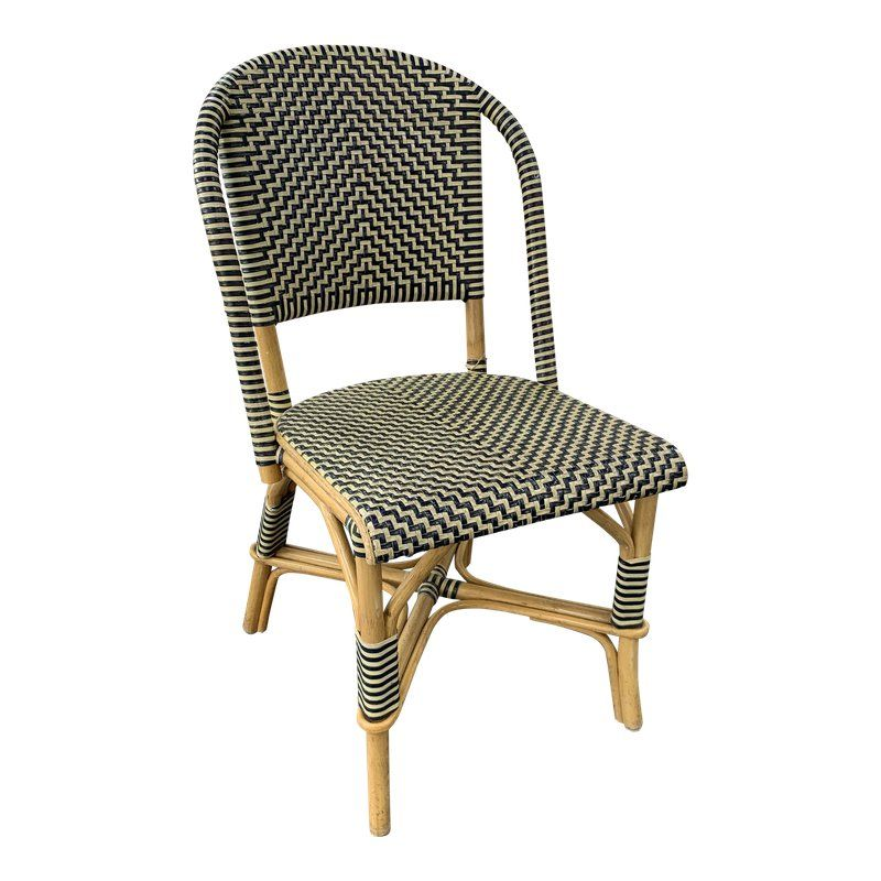 Astounding Late 20Th Century Vintage Woven Leather Bistro Chair In 2019 Pdpeps Interior Chair Design Pdpepsorg