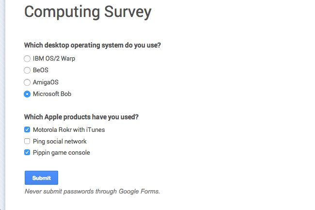 Create A WebBased Survey The Easy Way With Google Forms  Inner