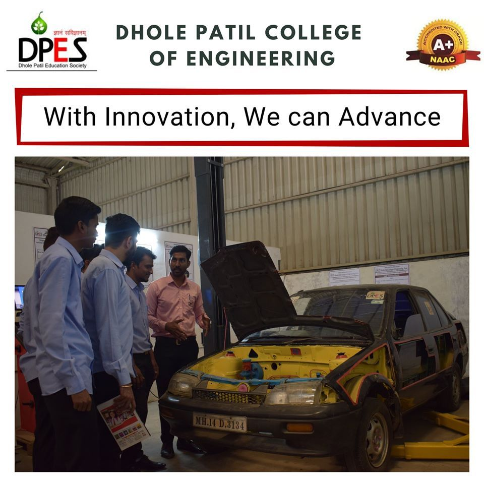 Our faculty at Dhole Patil College of Engineering