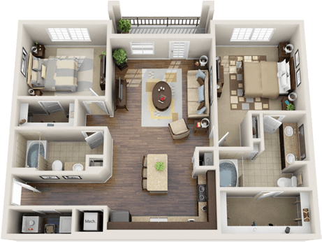 3d Floor Plan Apartment Google Search Apartment Living