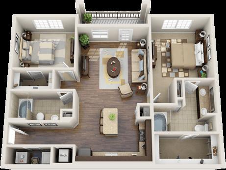 3d Floor Plan Apartment Google Search Apartment Floor Plans
