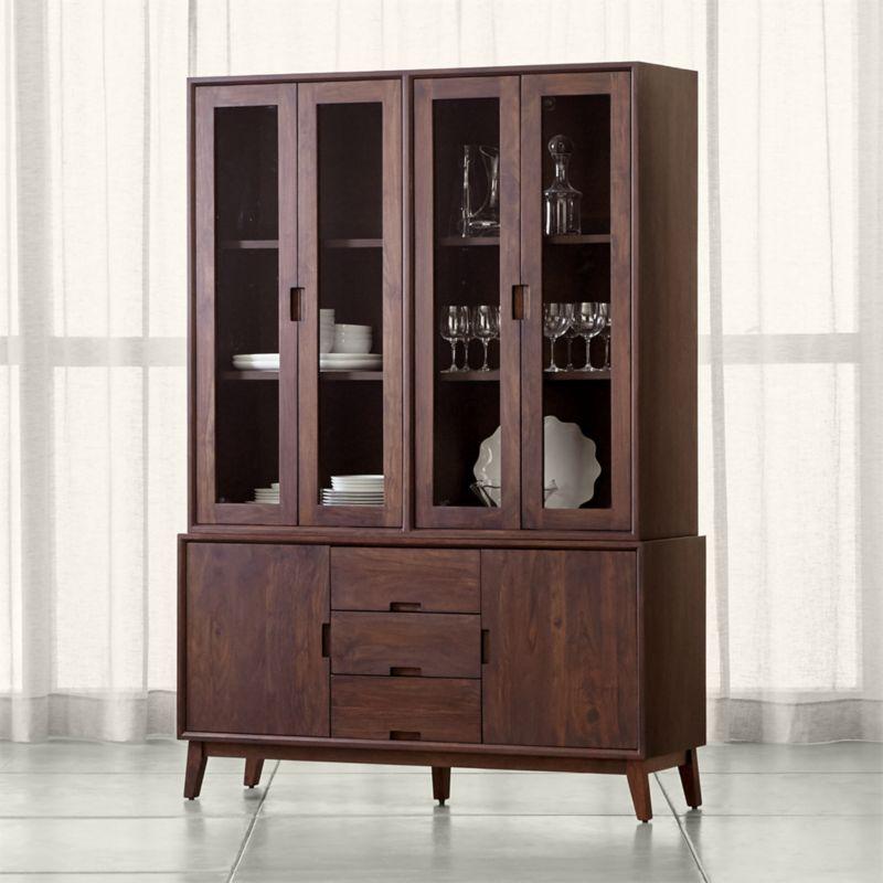 New Crate and Barrel Hutch Cabinet