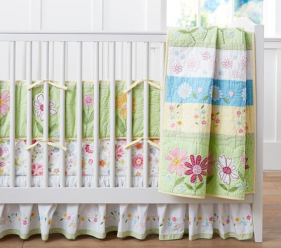 Daisy Garden Nursery Bedding Pottery Barn Kids