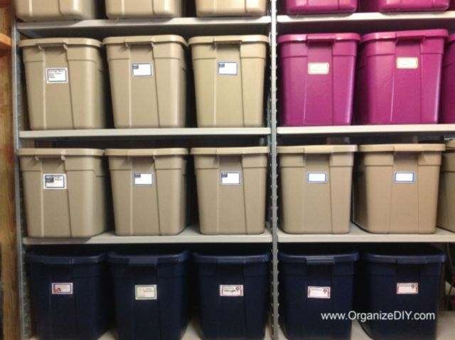 OrganizeDIYcom Was Included In This Great Post Highlighting Basement Storage  Ideas.