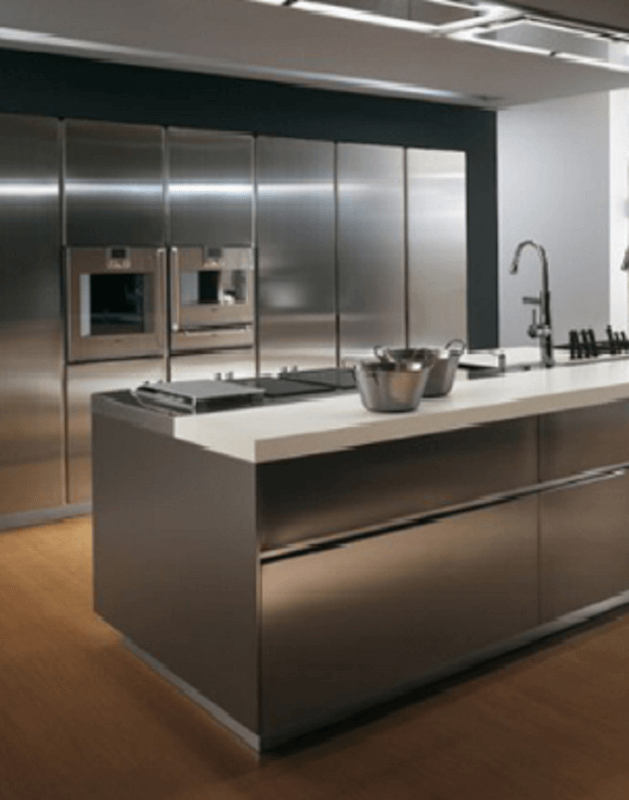 Best 30 Metal Kitchen Cabinets Ideas Style Photos Remodel 400 x 300