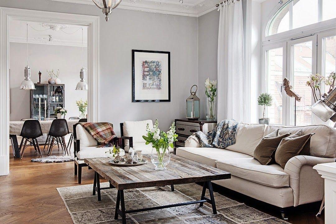 Vivir en un ambiente actual y elegante, decoración clásica ...