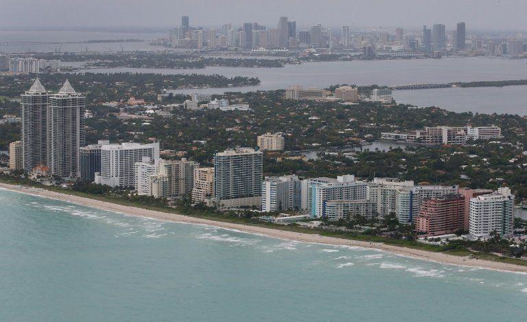 Sea level rise will swallow Miami New Orleans: study