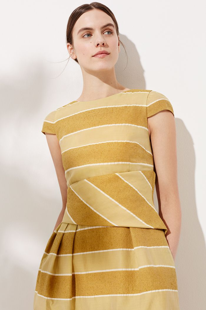 Camelot Dress Cinnamon Stripe | Kleider