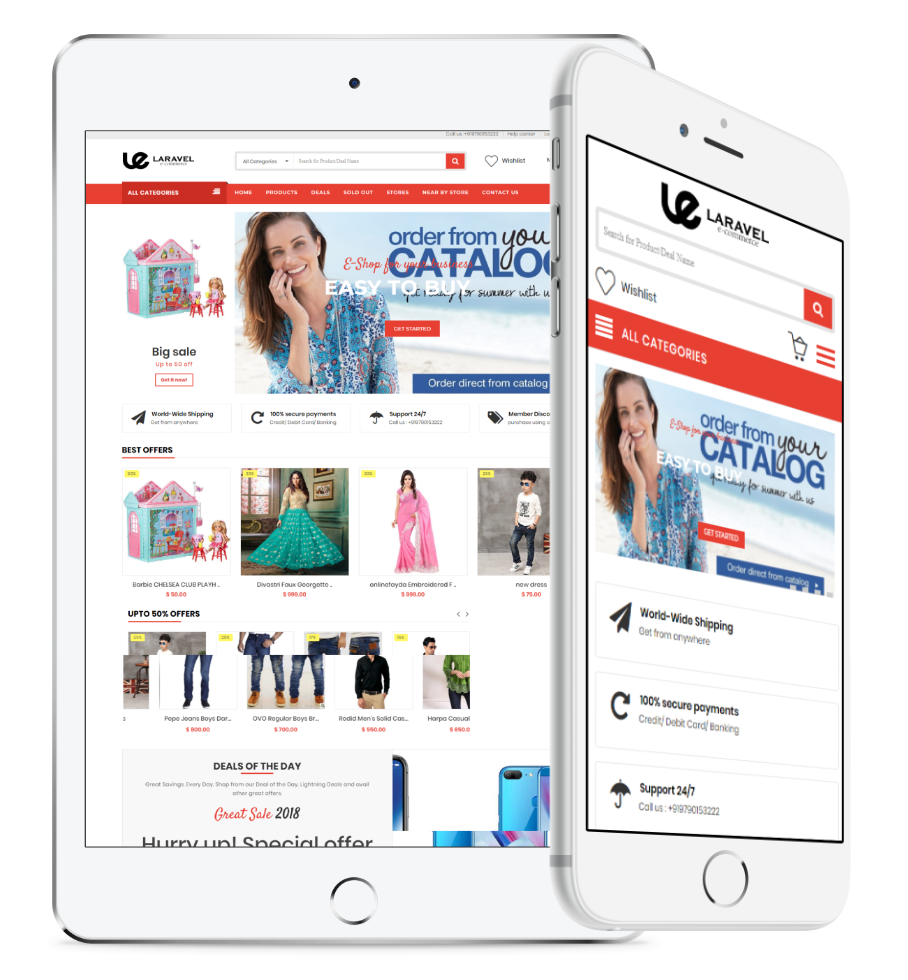 Fully customizable, 100% open source multi vendor shopping cart