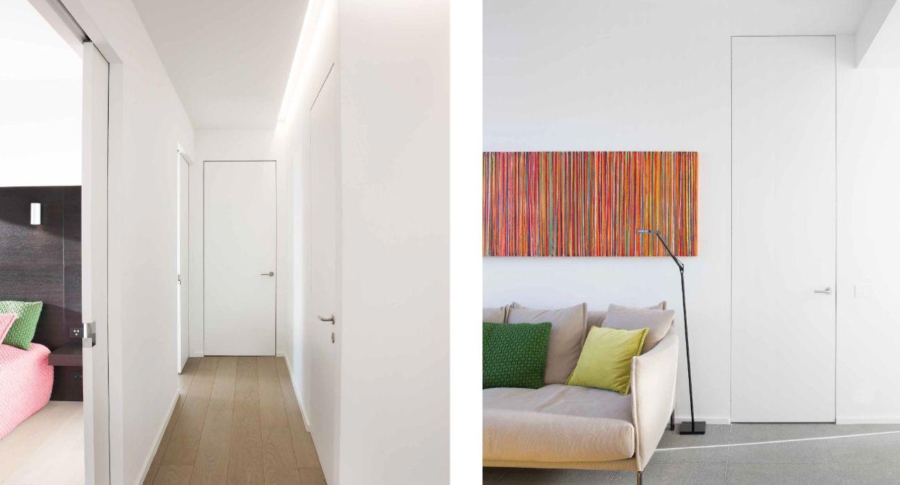 Gut gemocht Zimmertüren: Schlichte, flächenbündige Türen ohne dicken Rand TP68