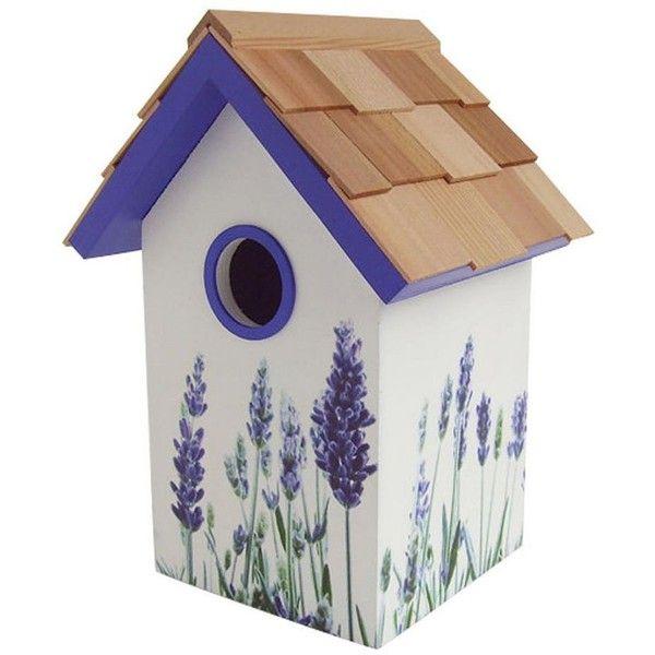Home Bazaar Indoor / Outdoor Floral Bird House Purple (Lavender) (£35 · Birdhouse IdeasBirdhousesWooden ...  sc 1 st  Pinterest & Home Bazaar Indoor / Outdoor Floral Bird House Purple (Lavender ...