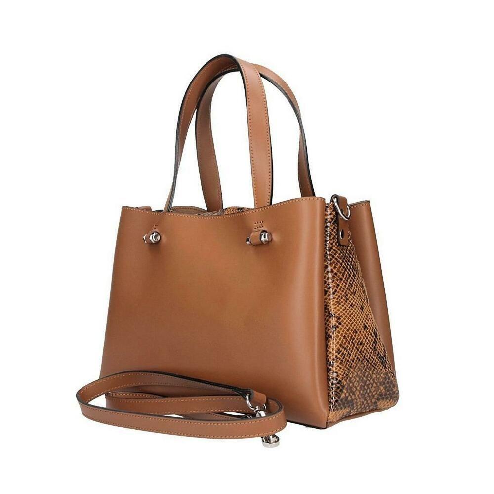 Photo of [Werbung]  ITALy LADIES LEATHER BAG Shopper Shoulder Bag Handbag Python Muste …