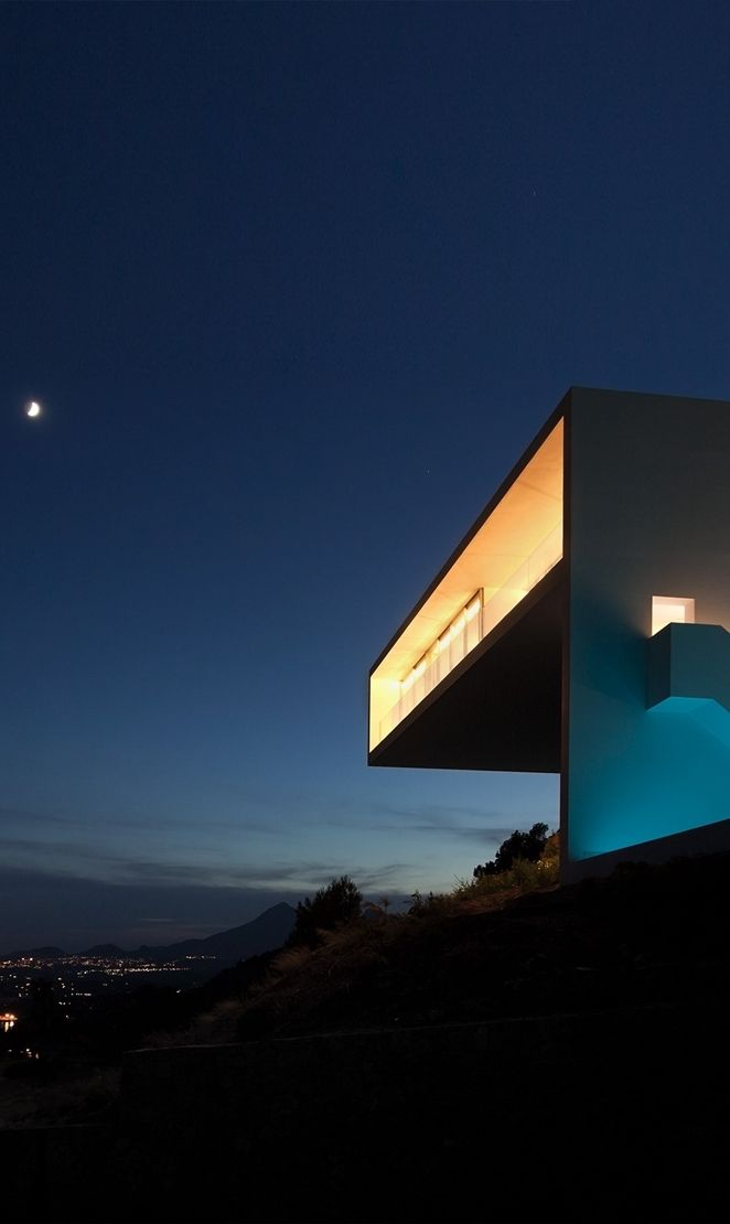 Minimalist House 85 Design: Minimalist House Design: Breathtaking Home On The Cliffs Of Valencia
