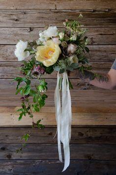 Trailing Passion Fruit Vine In A Mixed Bridal Bouquet Wedding Bouquets Beautiful Bouquet Flowers Bouquet