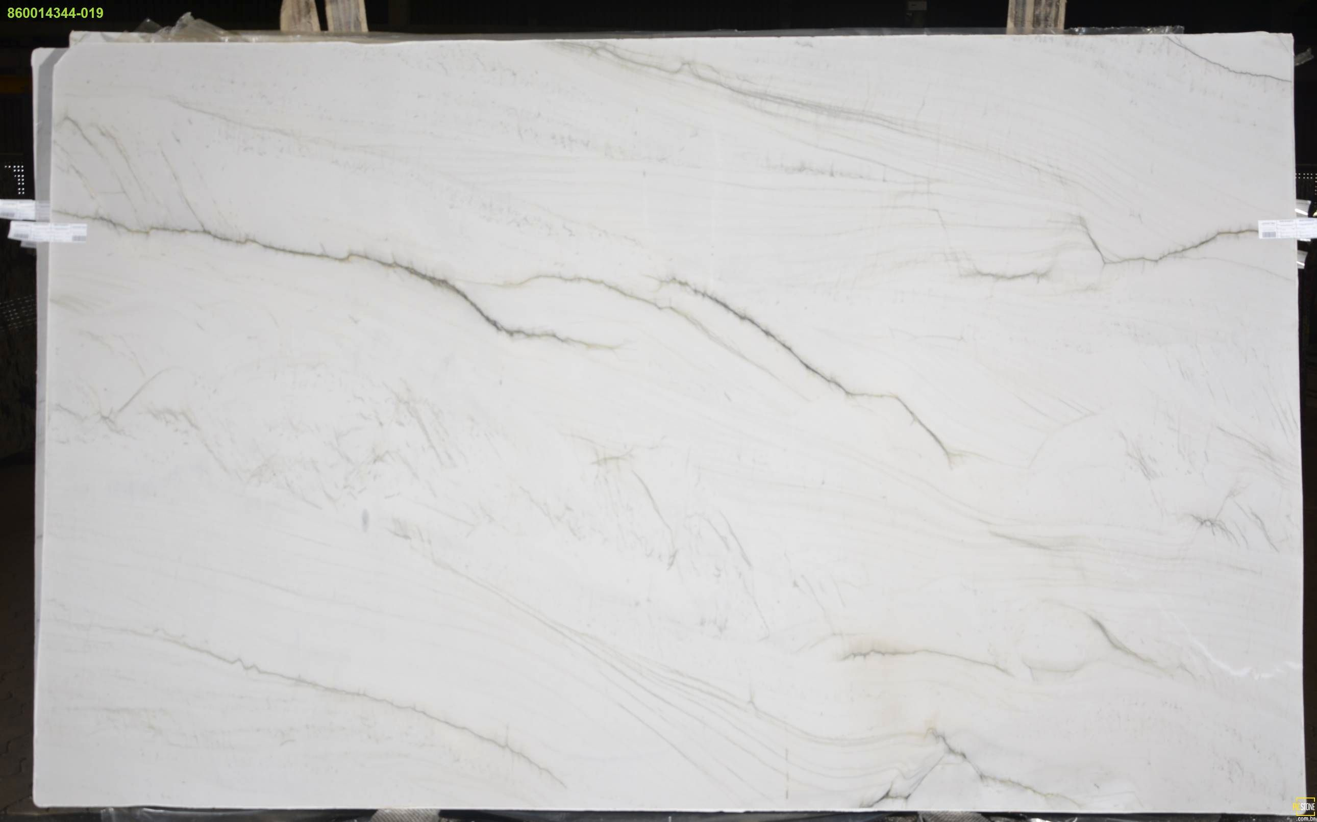 Opus White Quartzite Is A Real Stunner With A Creamy White