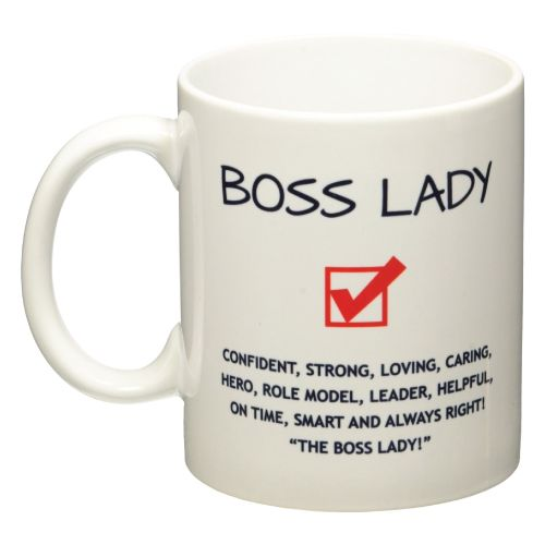 Boss Lady Coffee Mug A Nice Gift For Female Bosses Day Ideas