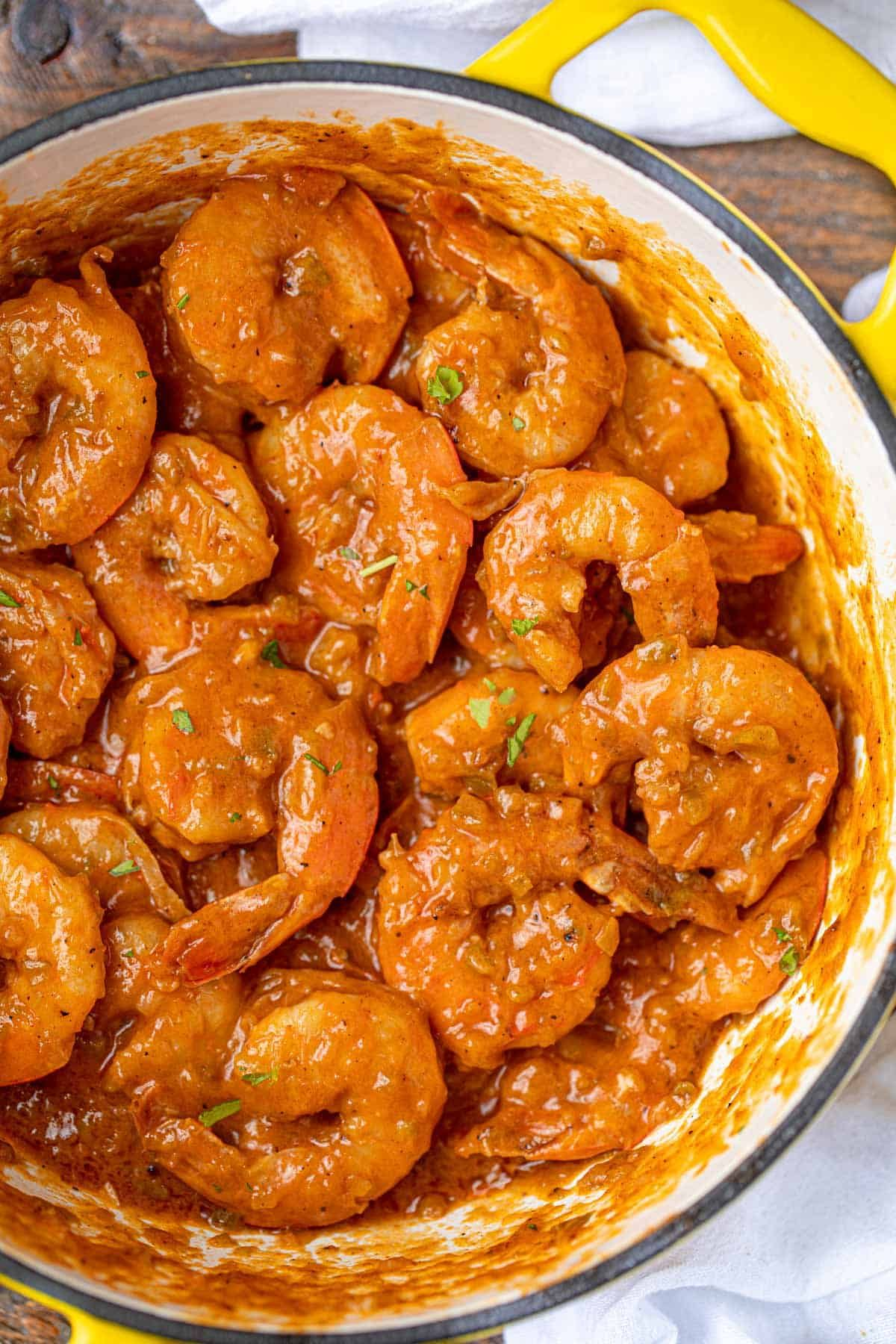 The BEST Cajun Shrimp Etouffee (In just 30 mins!) - Dinner, then Dessert
