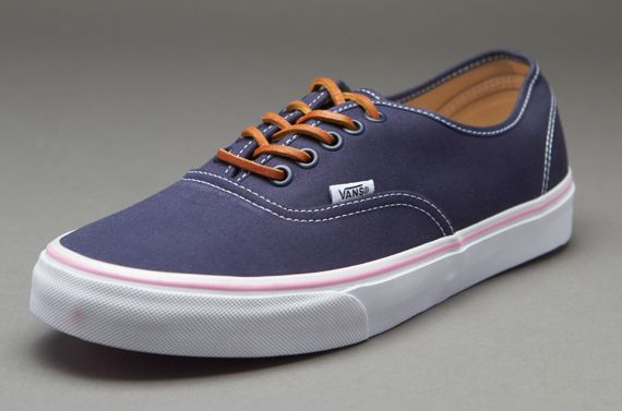 Vans Authentic - (Brushed Twill) Dress Blues - Mens Shoes - Pro-Direct cefd562165bb