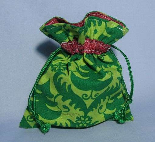 Reusable Fabric Gift Bags to sew - So Sew Easy