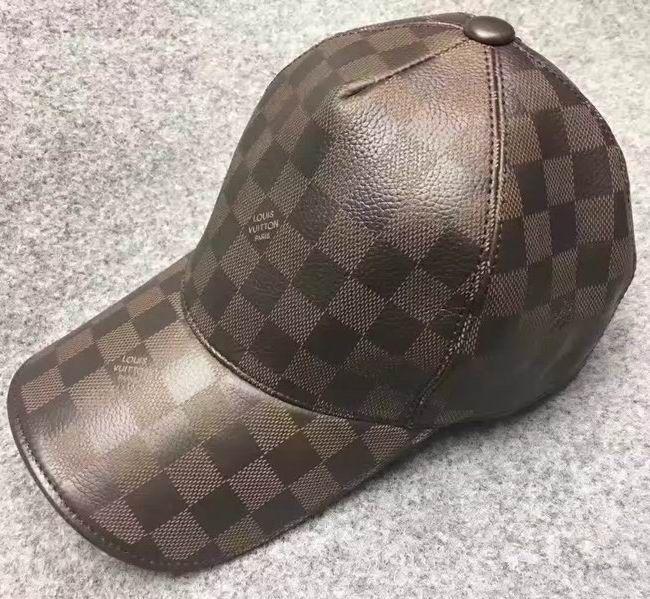 2765c6c83cf Louis Vuitton Leather Baseball Cap