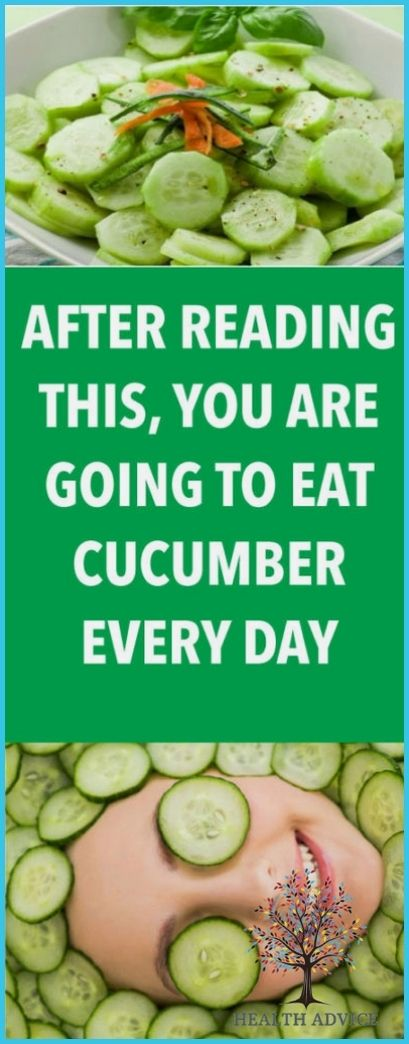 After Reading This, You Are Going To Eat Cucumber