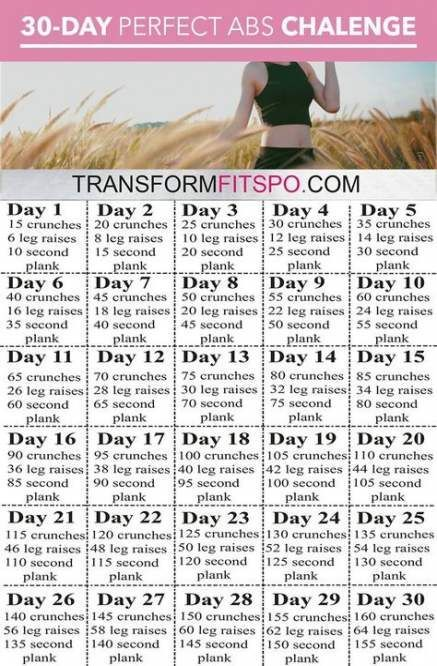 Trendy Fitness Transformation 30 Day Exercise 63 Ideas #fitness