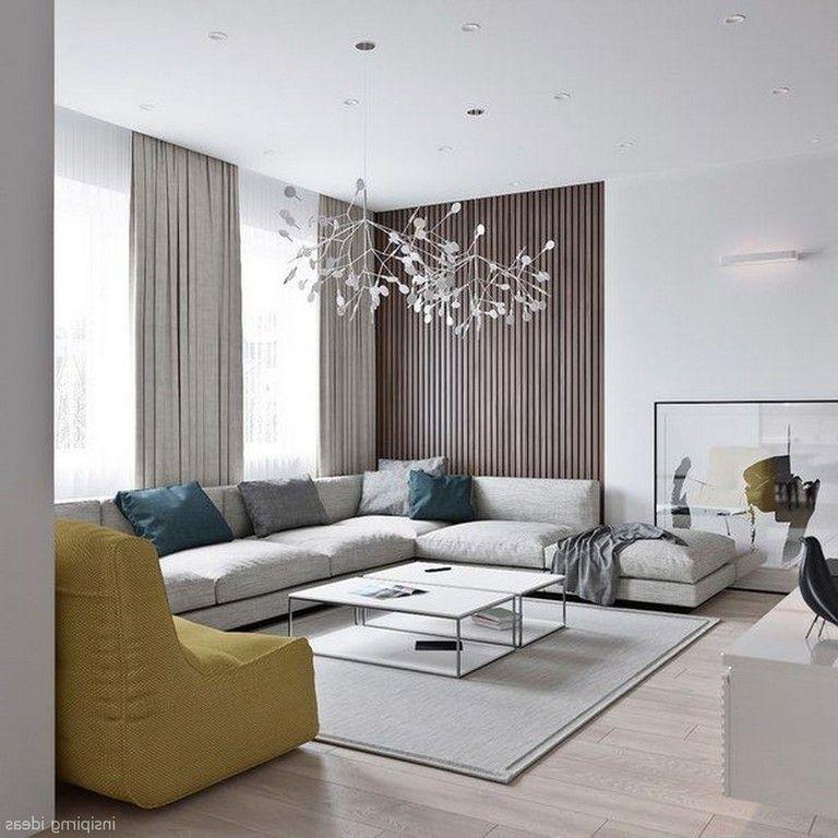 72 Amazing Modern Apartment Living Room Decorating Ideas #apartmentlivingrooms