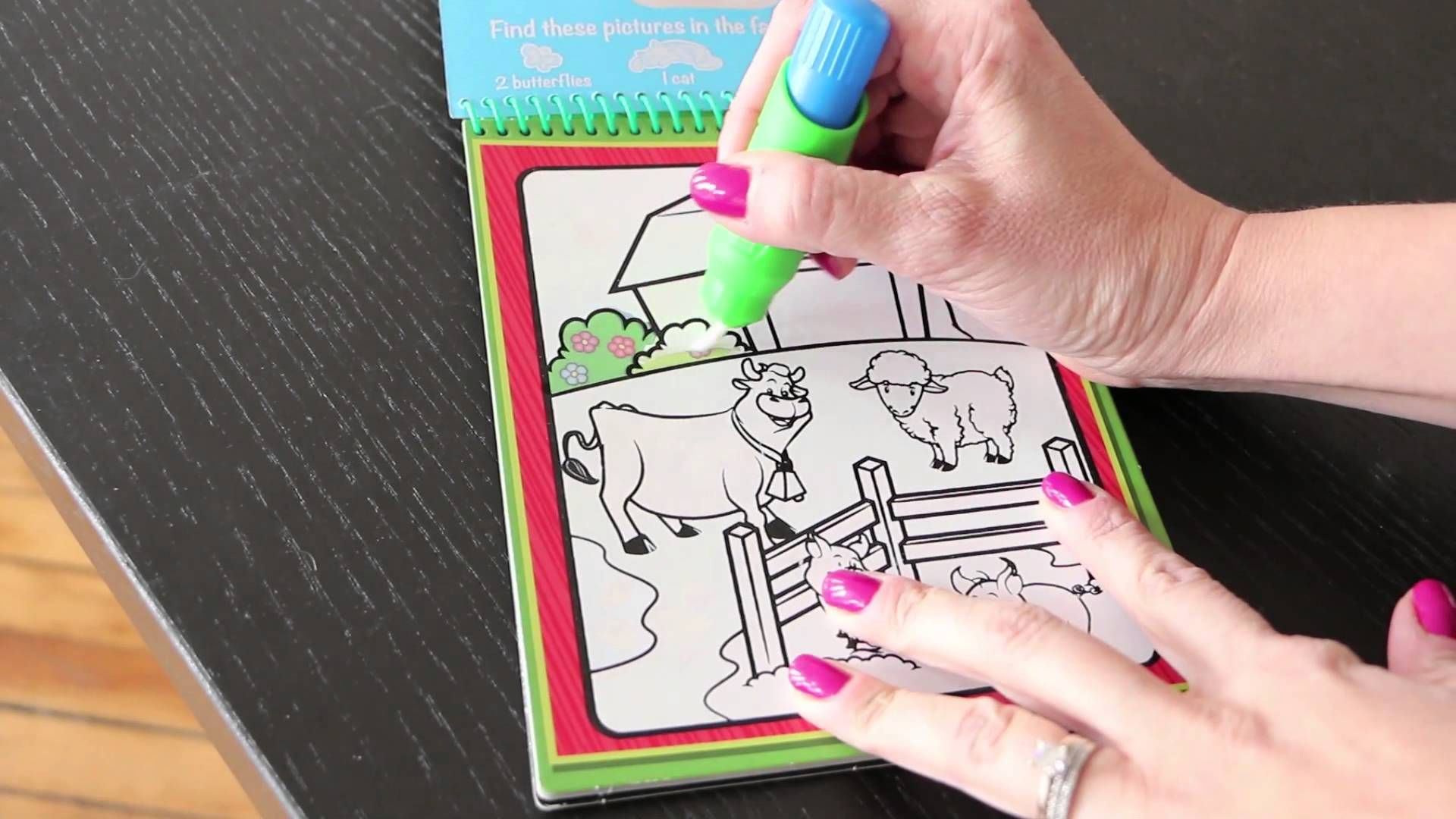 No-mess coloring with Melissa & Doug Water Wow kits ...