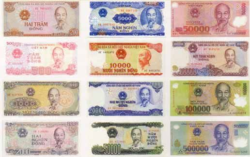 Vietnam Money And Costs Travel Thailand Vietnamese Dong American Dollar