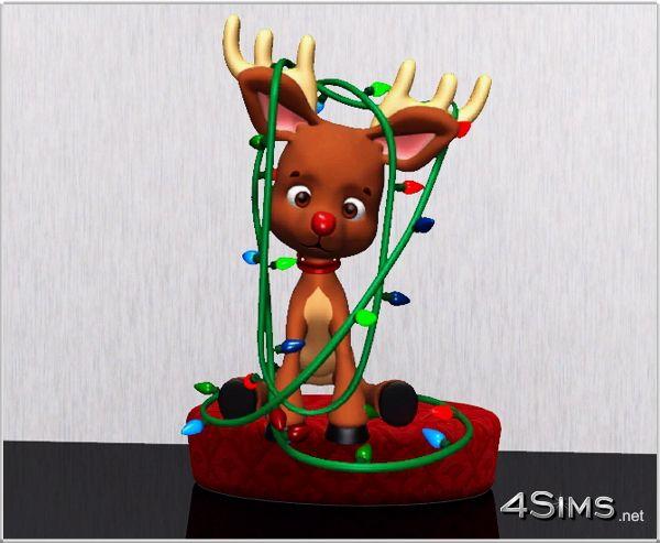 6 Reindeer wall decor